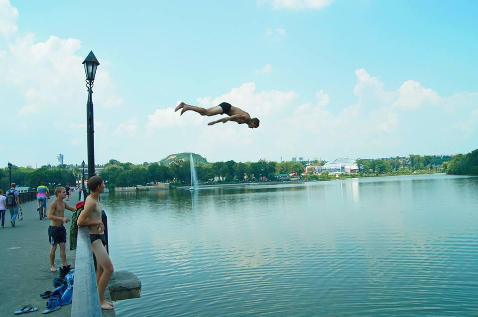 Прыжки на Первом городском