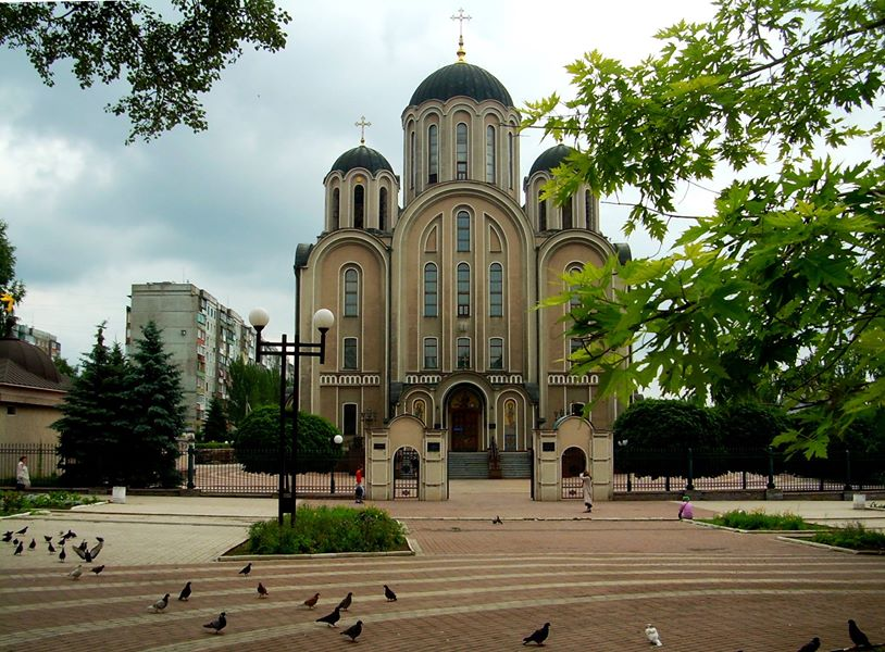 Свято-Георгиевский собор  в Донецке