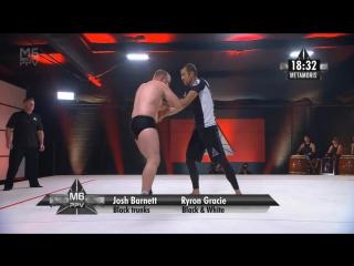 Josh Barnett vs Ryron Gracie