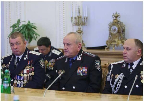 Порошенко присвоил звание генерал-майора милиции четырем сотрудникам МВД - Цензор.НЕТ 4496