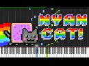 Nyan Cat [Piano Tutorial] (Synthesia)