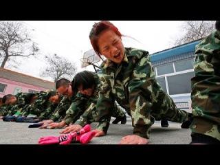 Китайские лагеря для лечения игромании у детей. Treatment of gambling in China