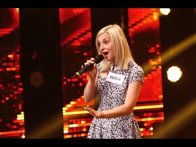 Marcela Scripcaru, interpretare de excepţie a melodiei Lie Ciocârlie, la X Factor!