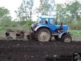 МТЗ-50Л вспашка Minsk tractor mtz-50