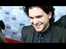 Game of Thrones' Kit Harington Reveals His Man Crush and Talks Love Scenes | 2013