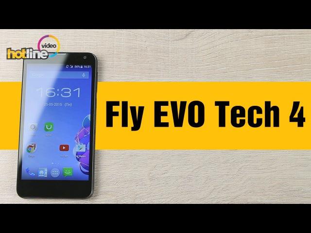Обзор смартфона от Fly IQ4514 EVO Tech 4 2015