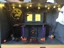 Дом-монстр своими руками. Поделки на Хэллоуин. Делаем с детьми.