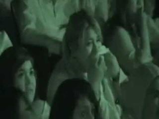 Паранормальное явление 3 реакция людей в кинотеатре