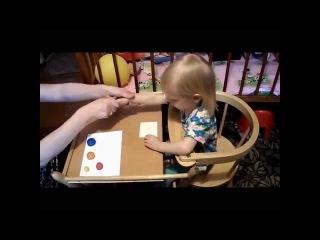 Поделки из соленого теста: Пирамидка (для малышей)