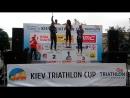Нагородження Аліси Колпакчи Kiev Triathlon Cup 27.06.2015