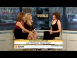 !LUCY LAWLESS TAKES ON LUCRETIA INTERVIEW! (SPARTACUS.BLOOD AND SAND)