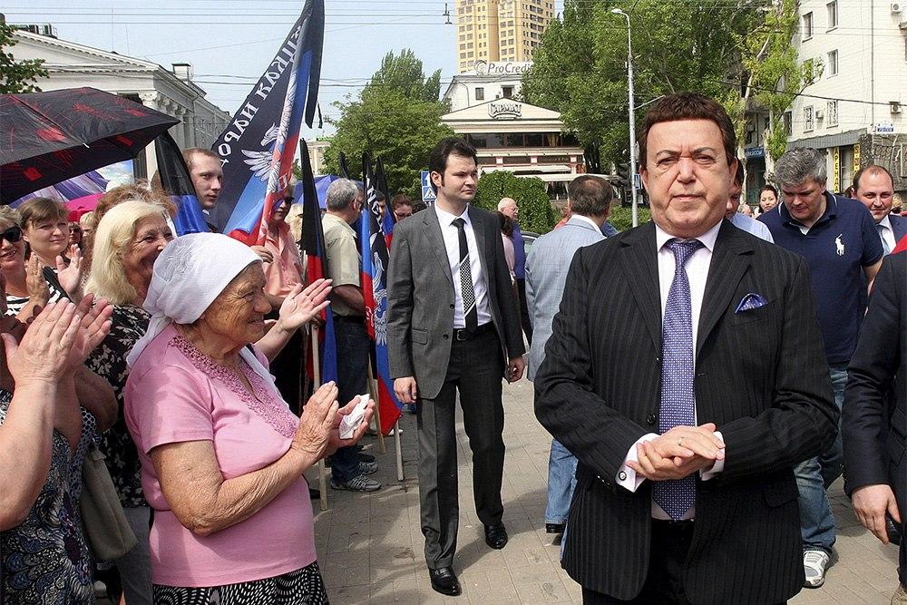 Дончане аплодируют Иосифу Кобзону