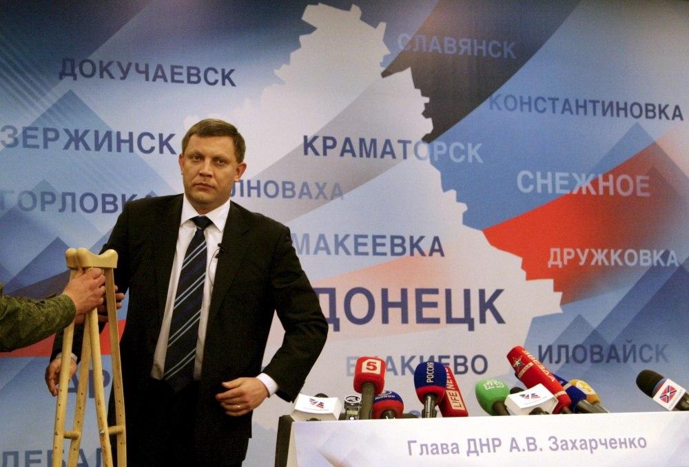 Глава ДНР Александр Захарченко все еще ощущает последствия ранения