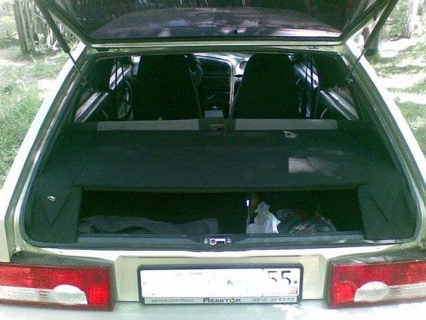 ваз 2113 багажник