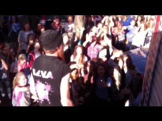 Группа N.E.V.A Уфа 20.09.2015 после выступления на Холи