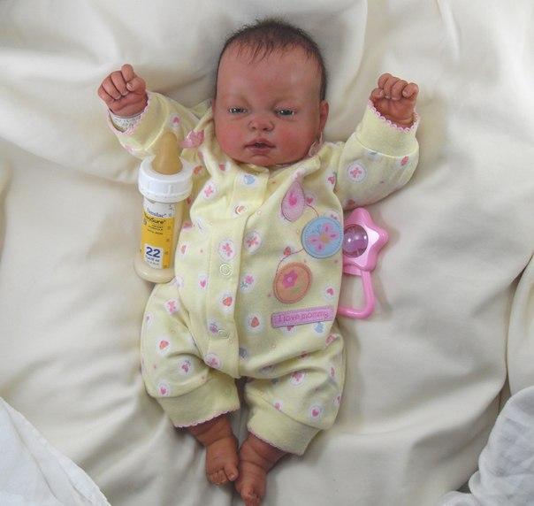 Кукла реборн своими руками фото