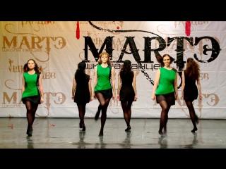Народные танцы мира. Ирландский танец Reel в школе танцев МАРТЭ 2013г