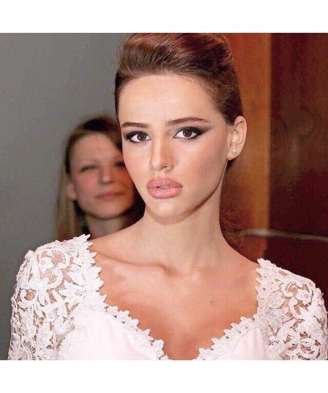 Яркий макияж - для яркой невесты 58