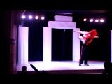 Танго, танец с поддержками, шоу-балет Chance Киев, танцевальный дуэт