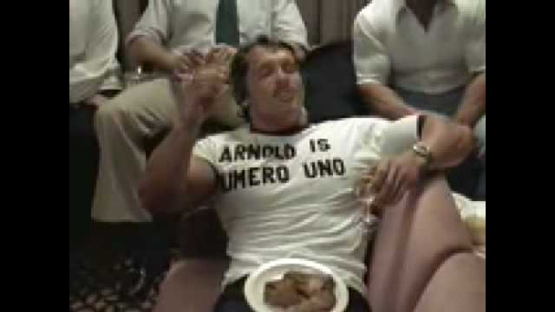 Arnold Schwarzenegger Smoking Weed