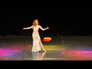 1 place - Elissa Mejanse 2015 - Belly dance festival Azure (Riga) - Official