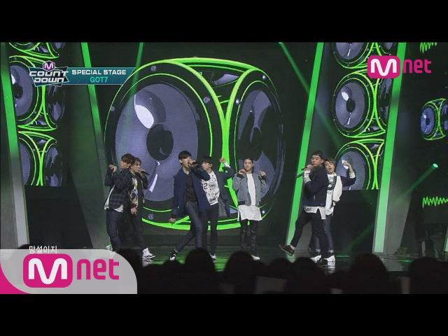 GOT7(갓세븐) - BOUNCE 150319 M COUNTDOWN Special Stage Ep.416