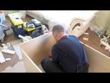 Сборка  простого шкафа купе, часть 1