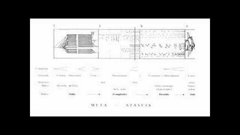 Iannis Xenakis Metastasis