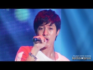130608 Kim Hyun Joong 김현중 - 나 살아 있는 건..(The Reason I Live) @ KHJ Show Party People