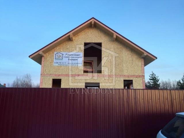 Строительство дома из СИП панелей по канадской технологии в СПб