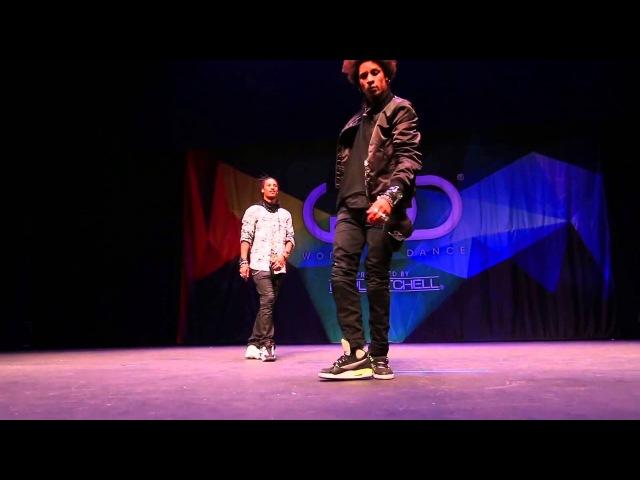 Les Twins ¦ FRONTROW ¦ World of Dance 2014/ Братья близнецы