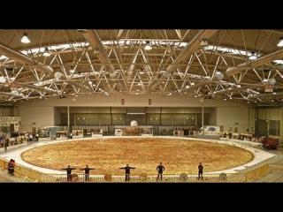 Самая большая пицца в мире / The biggest pizza in the world