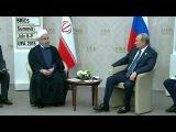 Уфа стала местом двусторонних встреч на высшем уровне - Первый канал