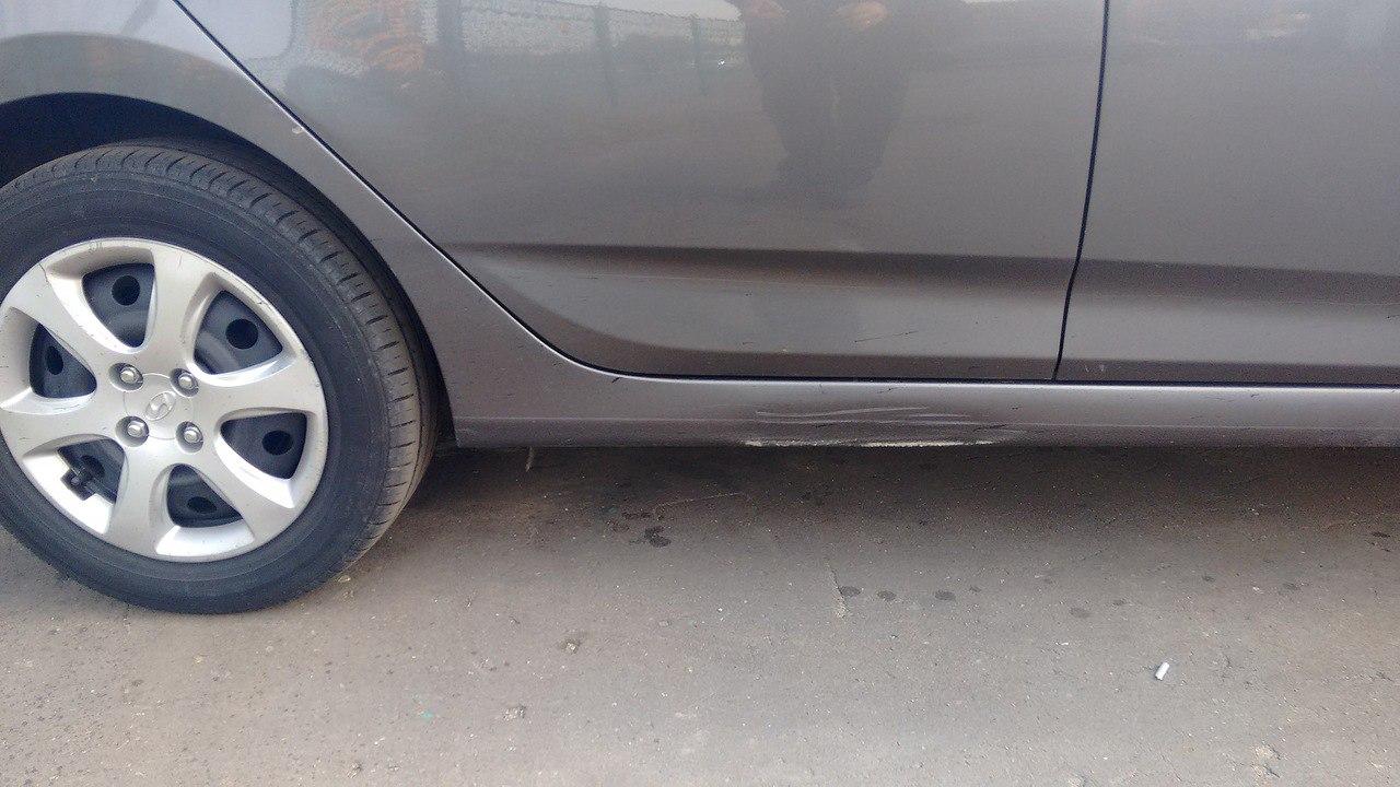 схема повреждений автотмобиля