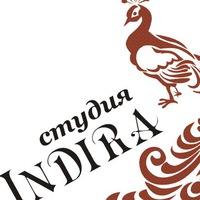 Логотип Студия мехенди Indira.Краснодар
