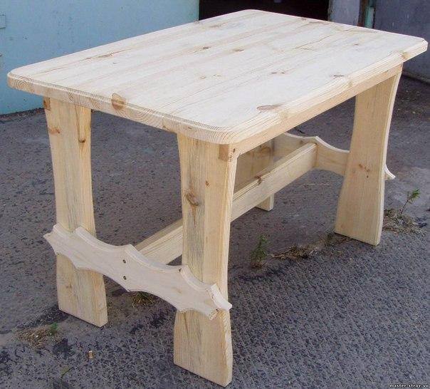 Деревянные столы своими руками фото и чертежи