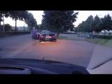 Разборки на дорогах в Бельгии, драка жесть, много крови, 18
