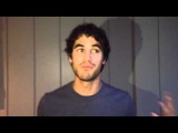 Darren Criss message to Timber Lake West's Color War (July 2014)