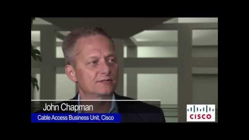 Cisco Джон Чэпмен говорит с BTR на SCTE Cable-Tec Expo 2014 на DOCSIS 3.1