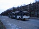 Троллейбус ЮМЗ-Т1 на 13-м маршруте в Харькове.