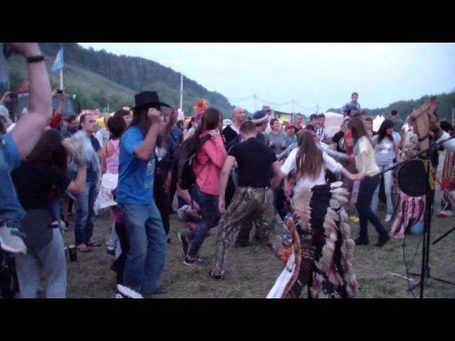 Танцы с индейцами ANKA INKA ЭЛЬКО.