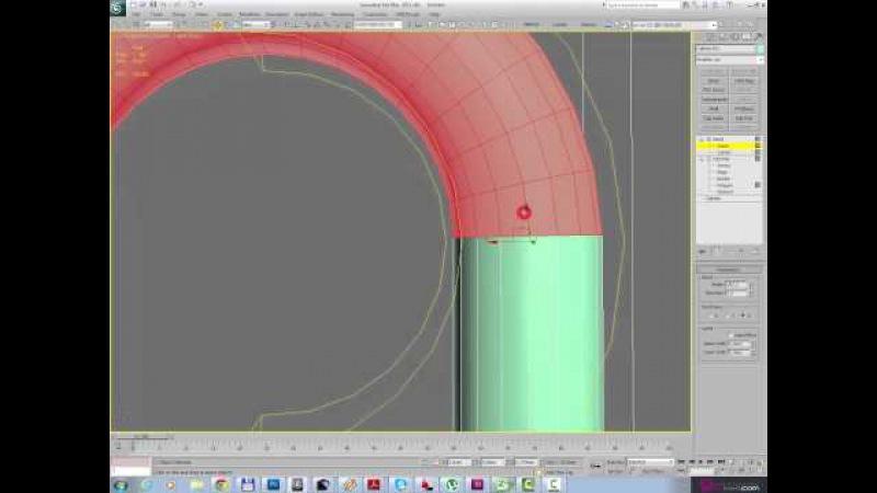 3ds max для начинающих Модификаторы Bend Twist Taper Noise Wave