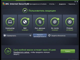 Обзор AVG Internet Security 2015.