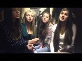 Хор девушек задушевно поет русскую песню