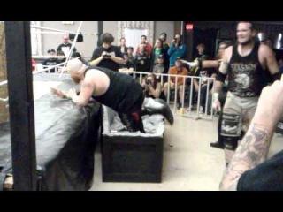 Matt Tremont vs. MASADA Triangle of Terror Match