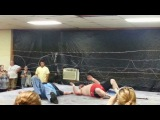 Jon Ryker vs. Lane Smart Barbed Wire Death Match