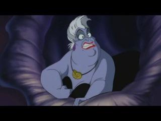 The Little Mermaid — Ursula's Transformation + Vanessa's Voice (Russian)