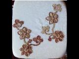 Irish lace Уроки вяз крючком ирландского кружева. 4й Урок Вяжем жакет