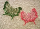 Ажурная бабочка Openwork Butterfly Crochet