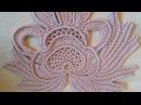 Вязание крючком фантазийный цветок 2